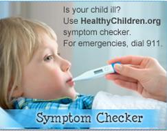 Symptom Checker for kids doctor