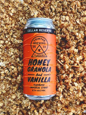 Honey Granola Vanilla Imperial Stout