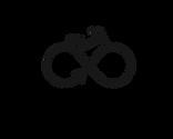 RC logo Black Bike&Text, Transparent BG.