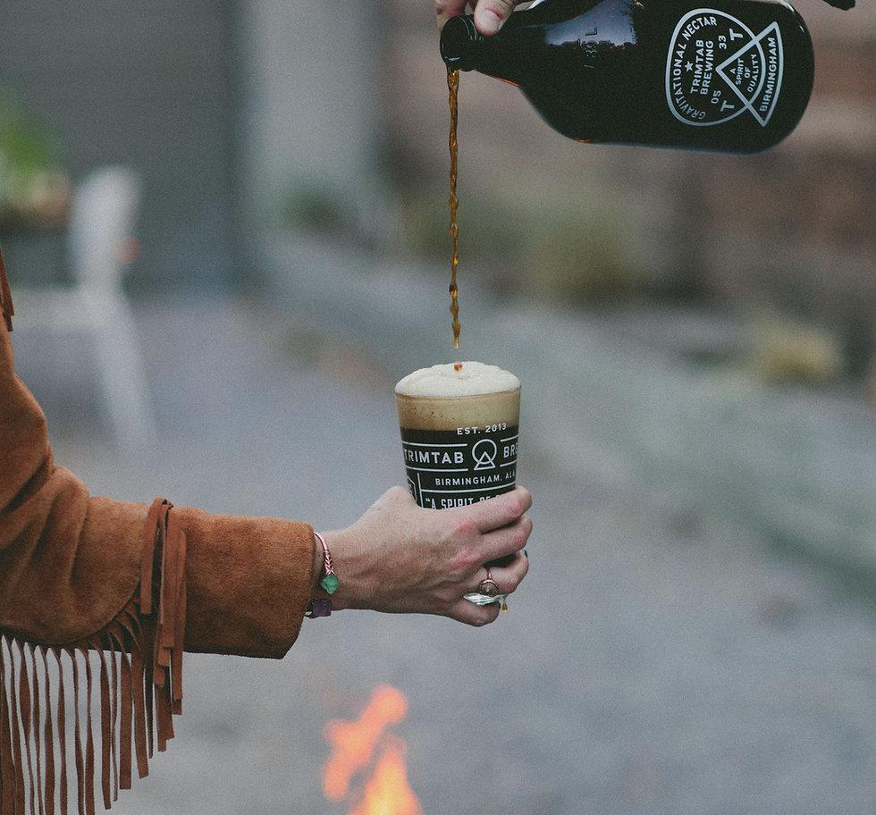 Trimtab Brewing Co Beer