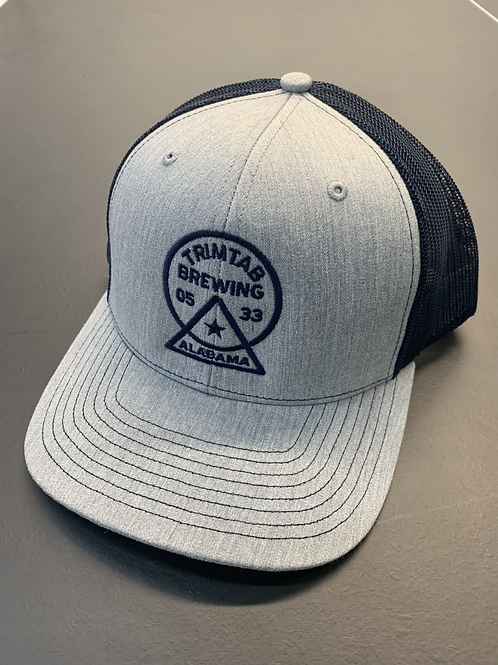 Richardson 112 - Trucker - Heather Gray/Navy