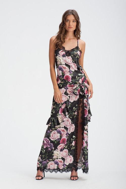 Sexy Satin Gown IB127