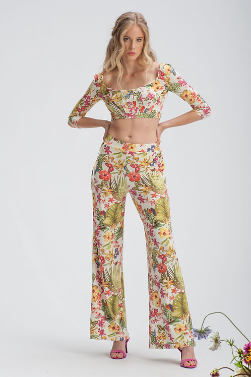 Floral Trousers IB151