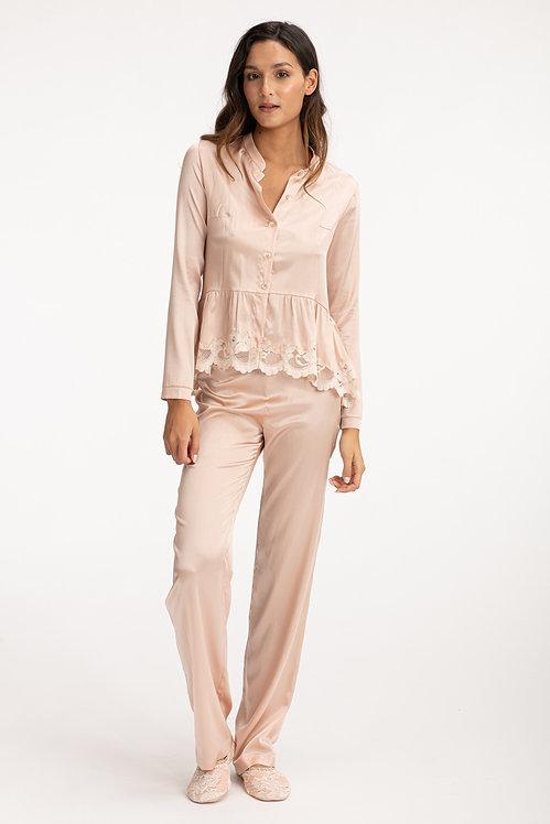Silk Pants S139