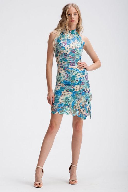 Mini Halter Dress IB163