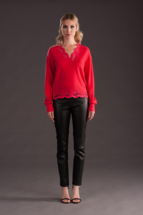 Cashmere and Lace Sweater C226
