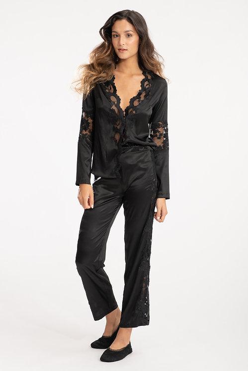 Silk Pants S136
