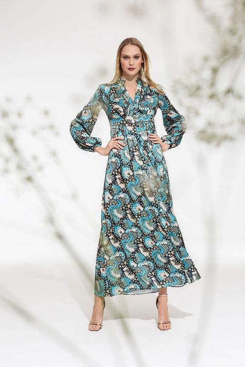 Phoenix Maxi Satin Dress