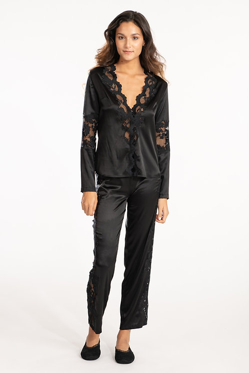 Silk & Lace Top S137