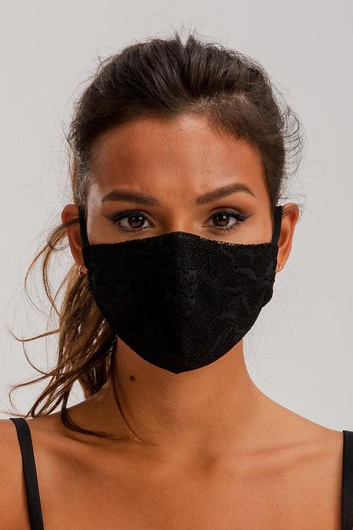 Face Mask Black ME01