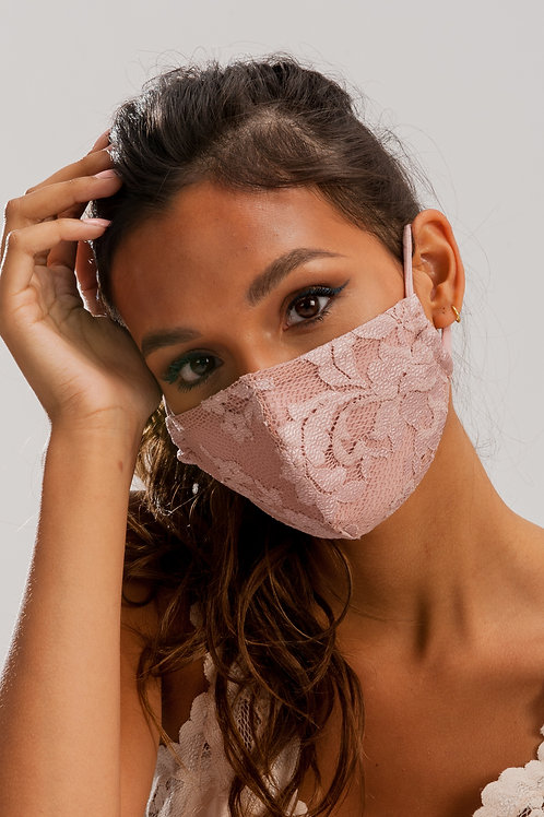 Face Mask Dusty Pink ME01
