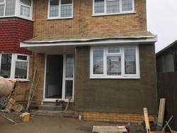 Garage Conversion Chelmsford Exterior 1