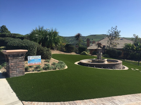 Water Saving Benefits of Synthetic Turf Lawns