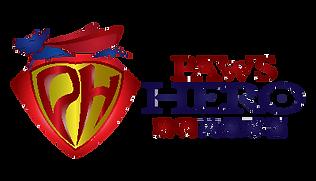 Paws Hero Logo - Horizontal & Vertical A