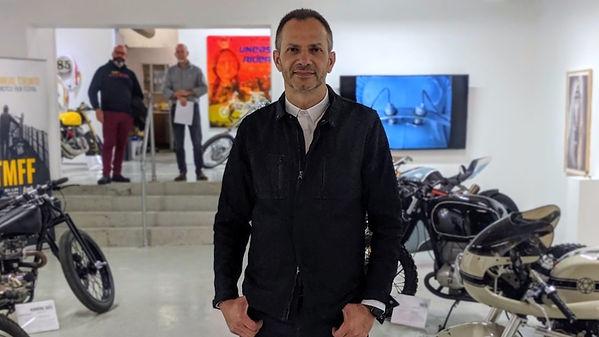 Spring Motorcycle Show magazin editor Caius Tenche