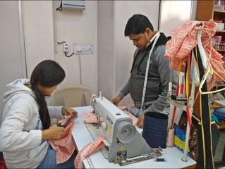 Ein Meilenstein für das Armenviertel Tughlakabad