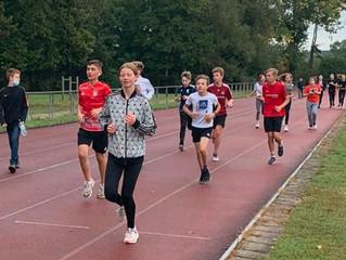 Spendenlauf des Egbert-Gymnasiums in Münsterschwarzach