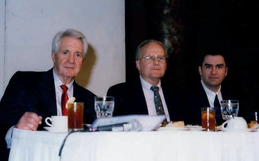 Curt Gowdy, Lamar Hunt and Mark