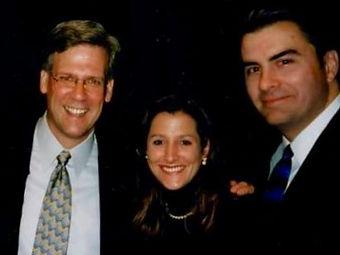 Tony Snow, Laura and Mark
