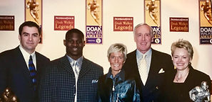 Mark, LaDanian Tomlinson, Skeeter Walker and Pete Dawkins