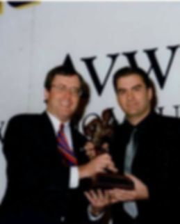 Mark Receiving The Presenter's Doak Walker Award