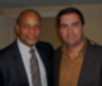 Ronnie Lott and Mark