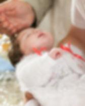Cérémonie de baptême de bébé