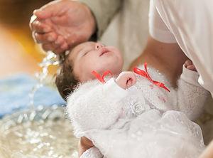 Baby Baptism Ceremony