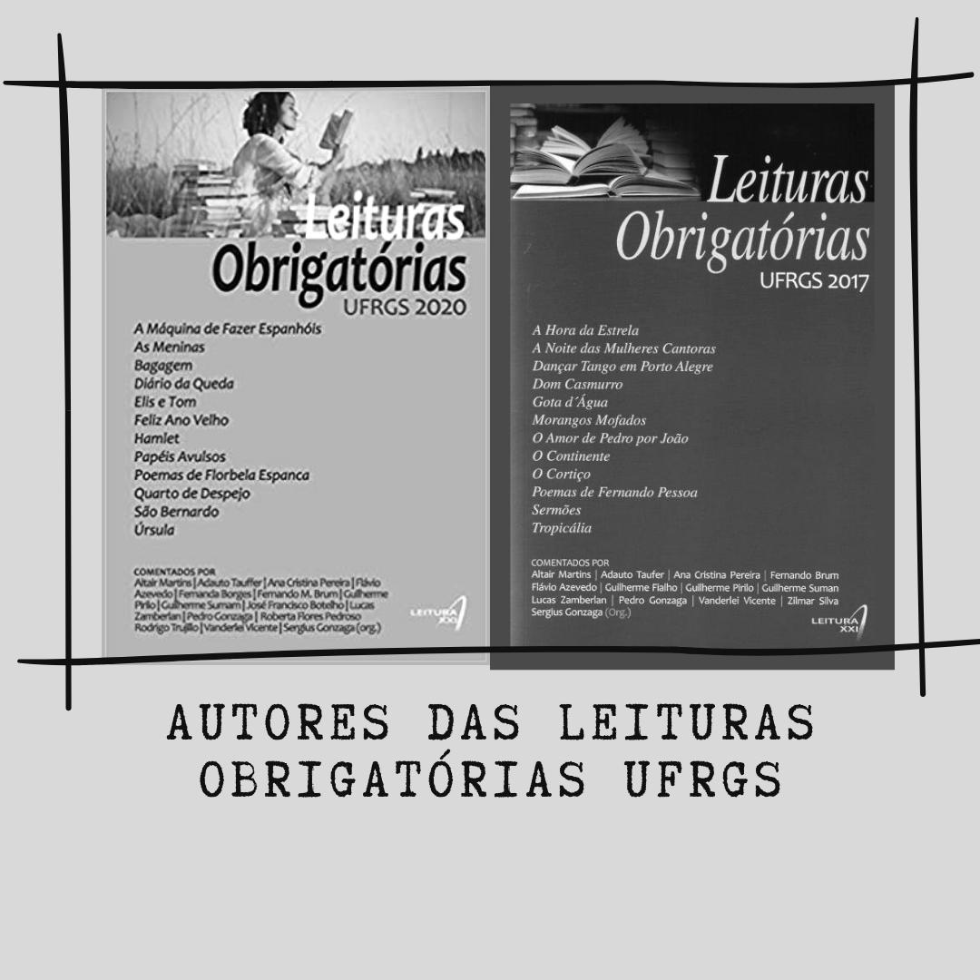 Autores Leituras Obrigatórias