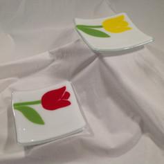 Tulip Dessert Plate