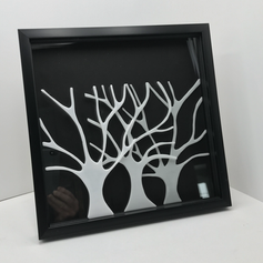 Ghost Forest Shadow Box