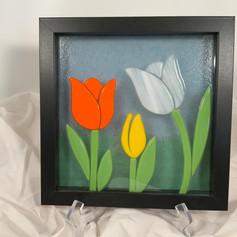 Small Tulip Shadow Box