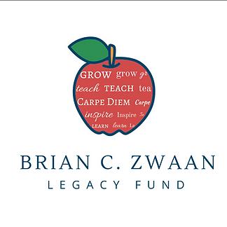 An Apple with words grow teach carpe diem inspire learn education