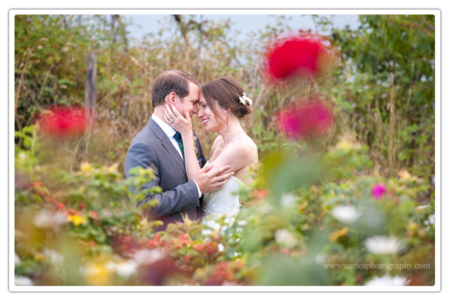 bainbridge island garden wedding