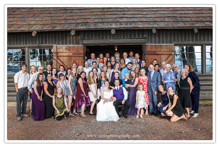 Kitsap Memorial State Park wedding