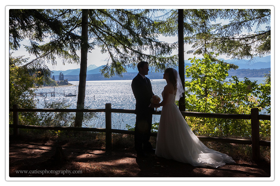 hood canal mountains wedding photography