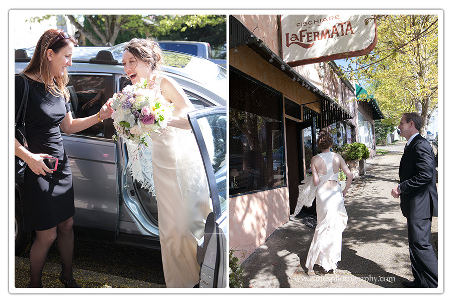 La Fermata Restaurant wedding