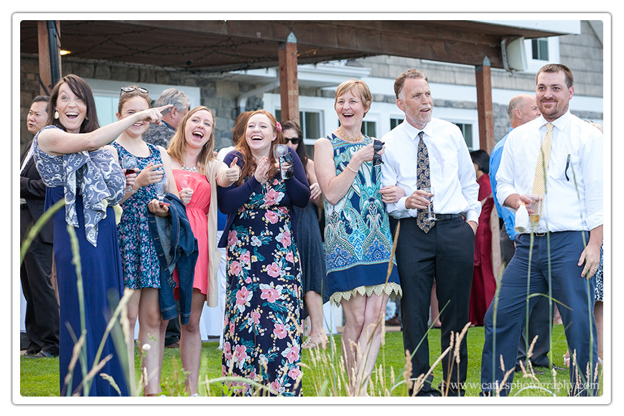 guests wedding edgewater house, wa
