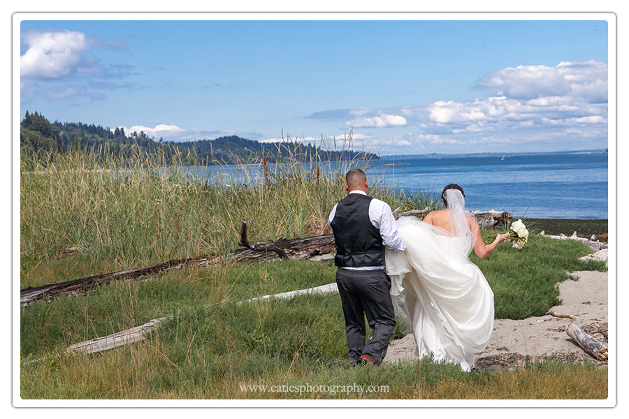 beach wedding gig harbor wa