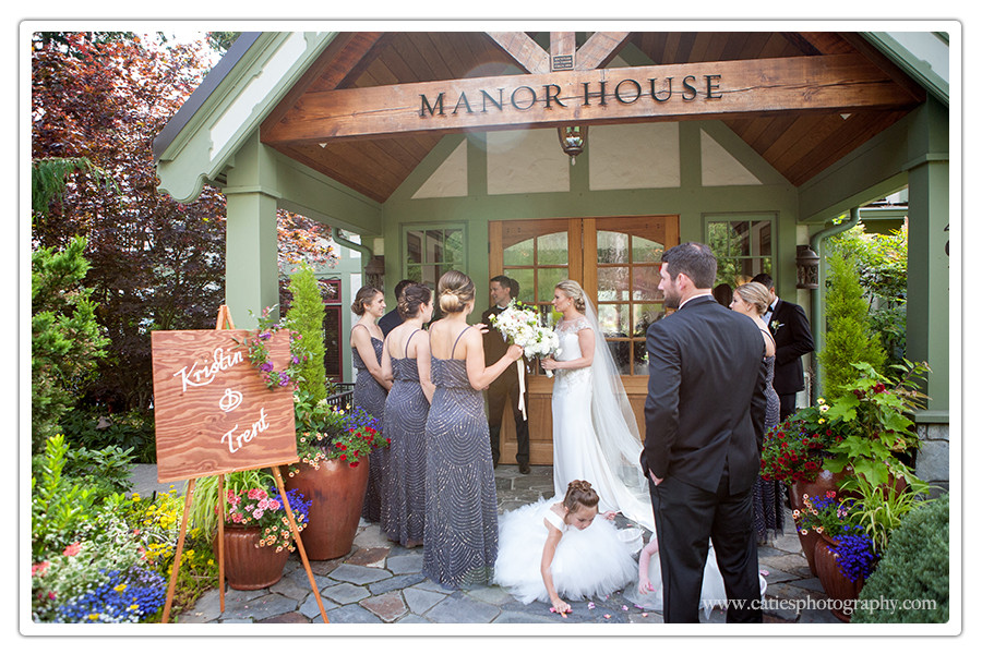 Manor House Wedding Bainbridge Island