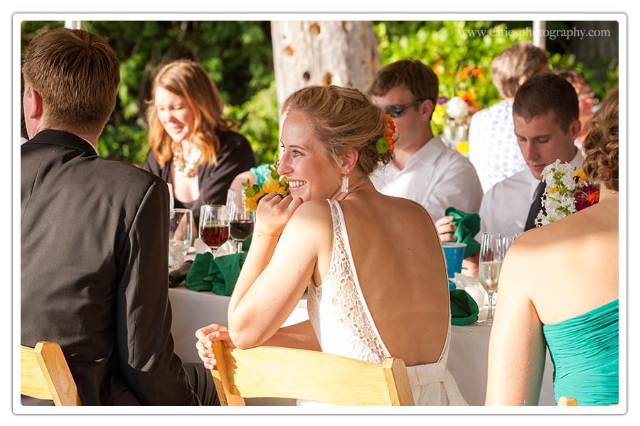 hilltop wedding outdoor bainbridge island