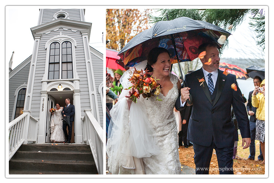St. Paul's Church Port Gamble Wedding Photography