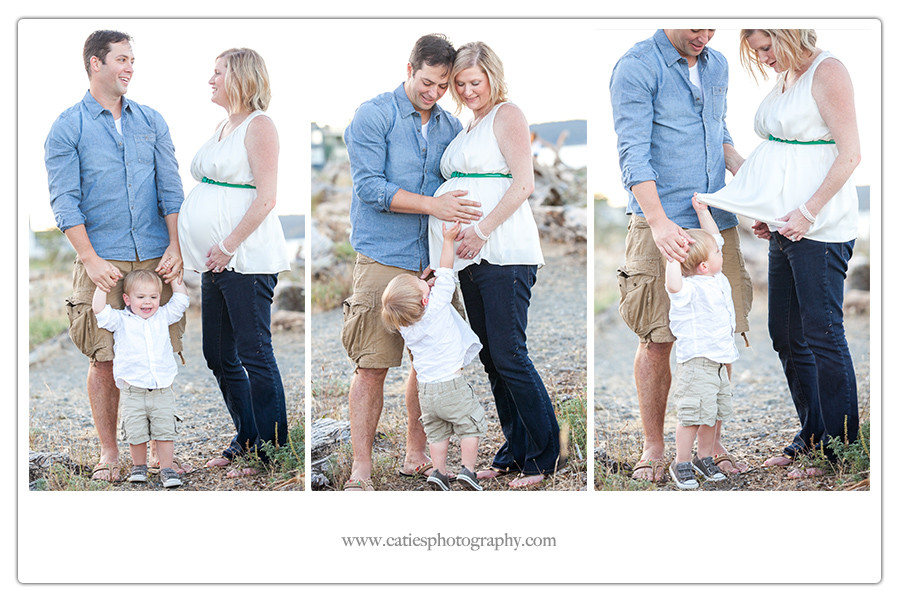 Maternity Session Bainbridge Island