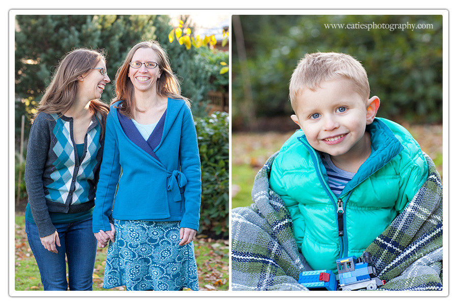 bainbridge winter family photographer