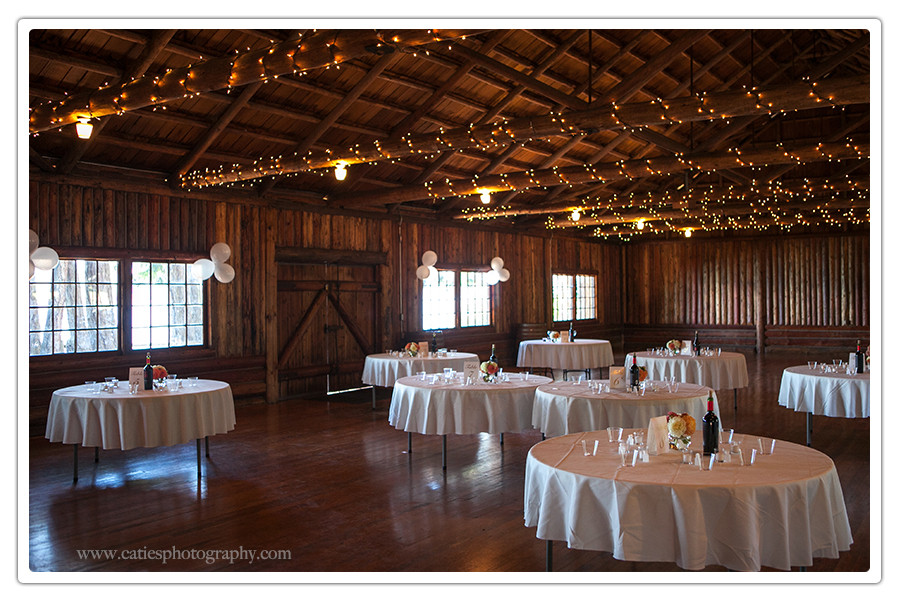 Kitsap Memorial State Park wedding reception