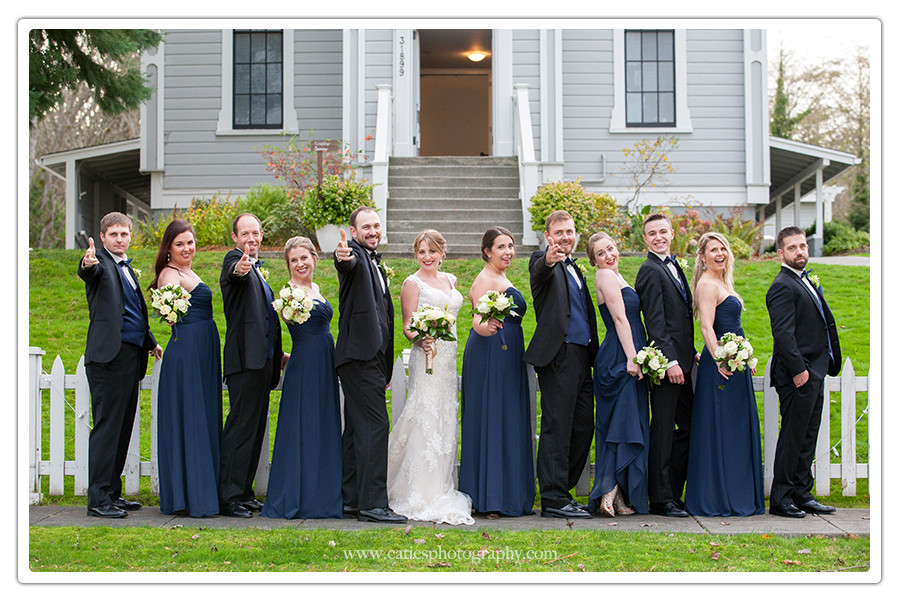 Port Gamble St Pauls Church Wedding Photographer