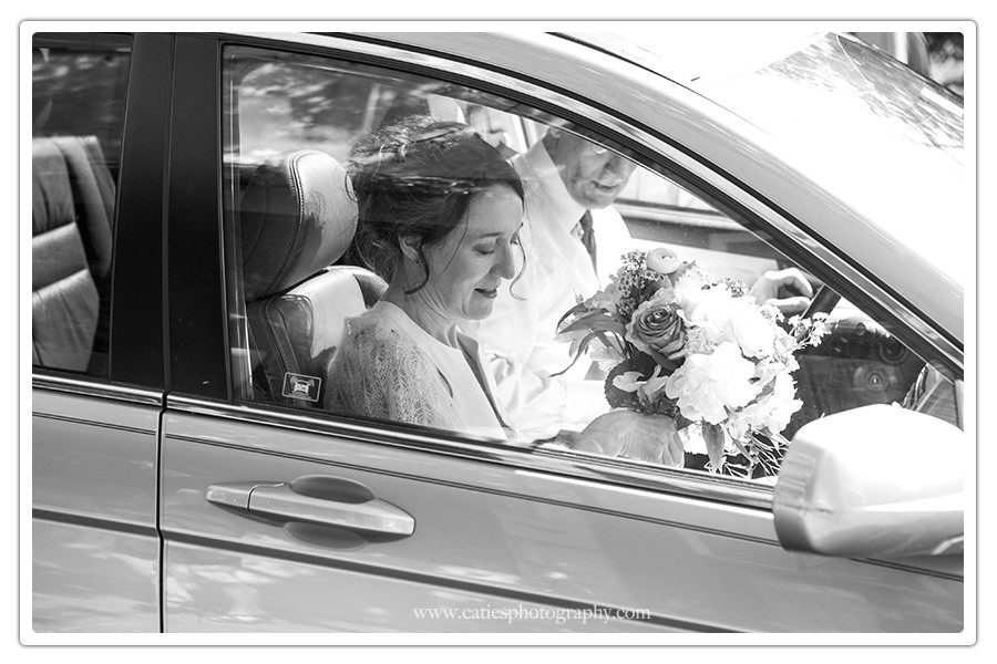 bride in car, bremerton wa