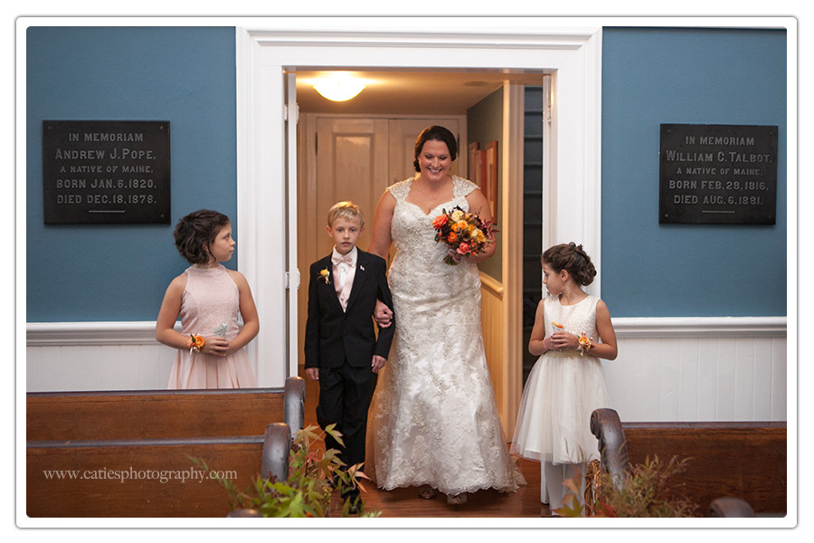 Port Gamble Church wedding photographer