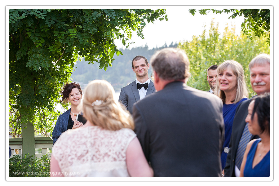 ceremony photography bainbridge island