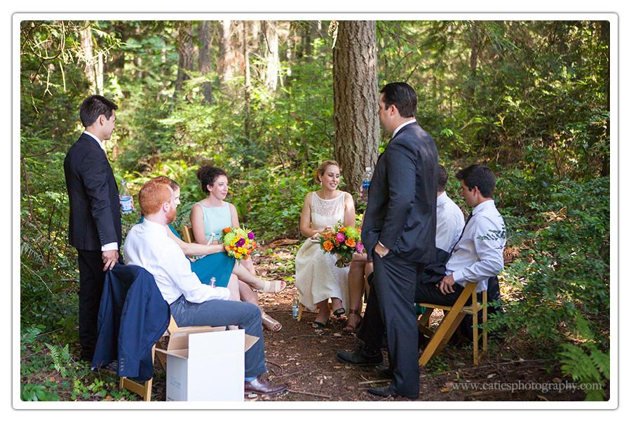 bridal party bainbridge island, wa
